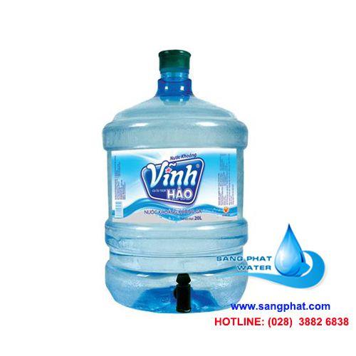 nước khoáng vĩnh hảo bình 20 lít vòi